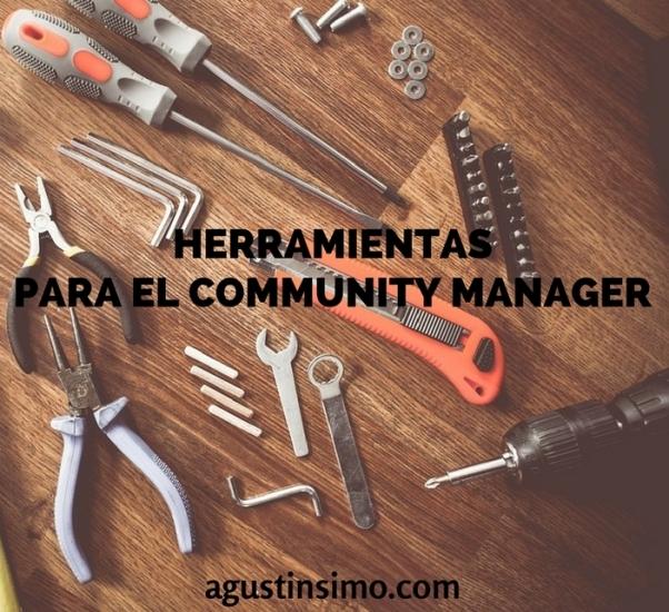 HERRAMIENTASPARA EL COMMUNITY MANAGER