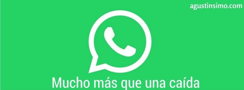 caída whatsapp