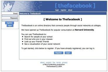 The facebook 2004
